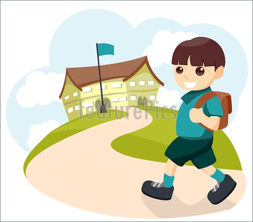 Go Home From School Clipart | www.imgkid.com - The Image ...