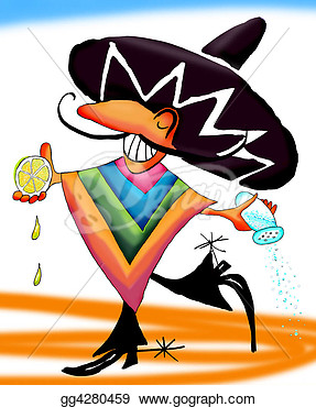 Illustration   Tequila Mexican Dance  Clipart Gg4280459   Gograph