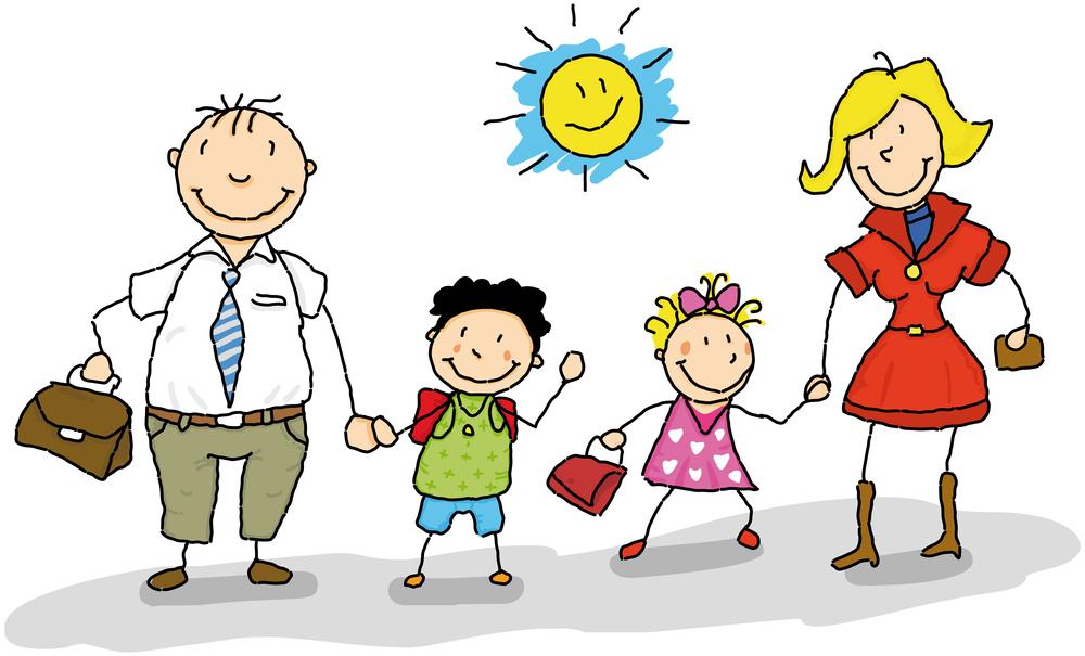 Картинки по запросу семья и школа клипарт