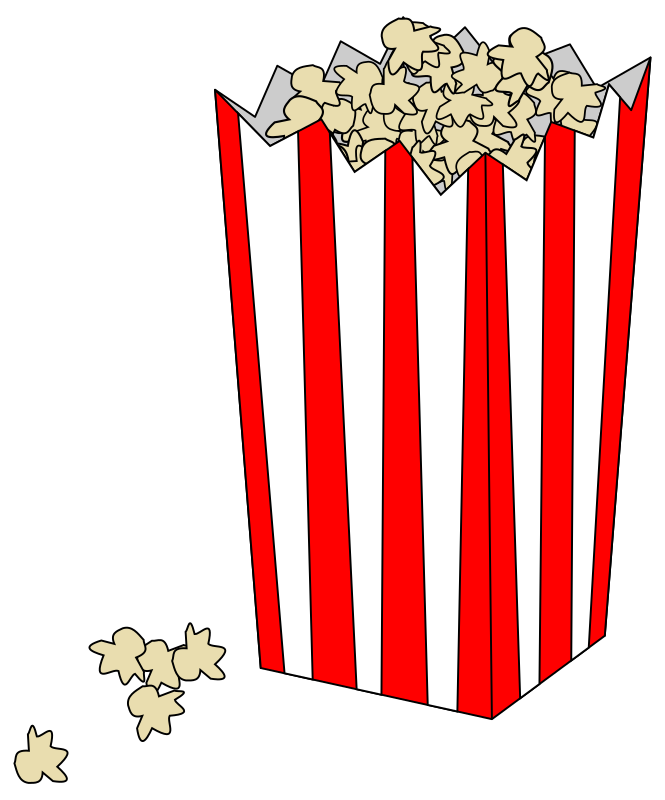 Movie Popcorn Bag By Rocke86   Bag Of Popcorn In A Bag Like At The