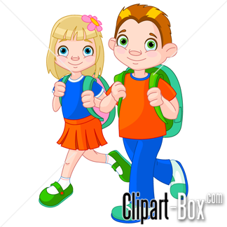 Going To School Clipart - Clipart Kid