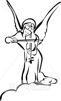 Religious Clipart Angel   Angel Clipart