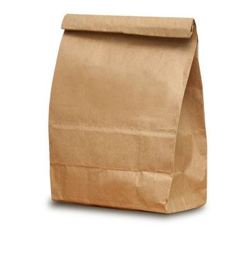 Safeathome  Lunch In A Brown Paper Bag