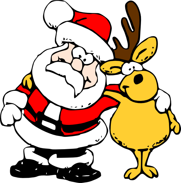 Silly Christmas Clipart - Clipart Kid