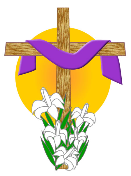 Easter Lilies And Cross Clipart - Clipart Kid