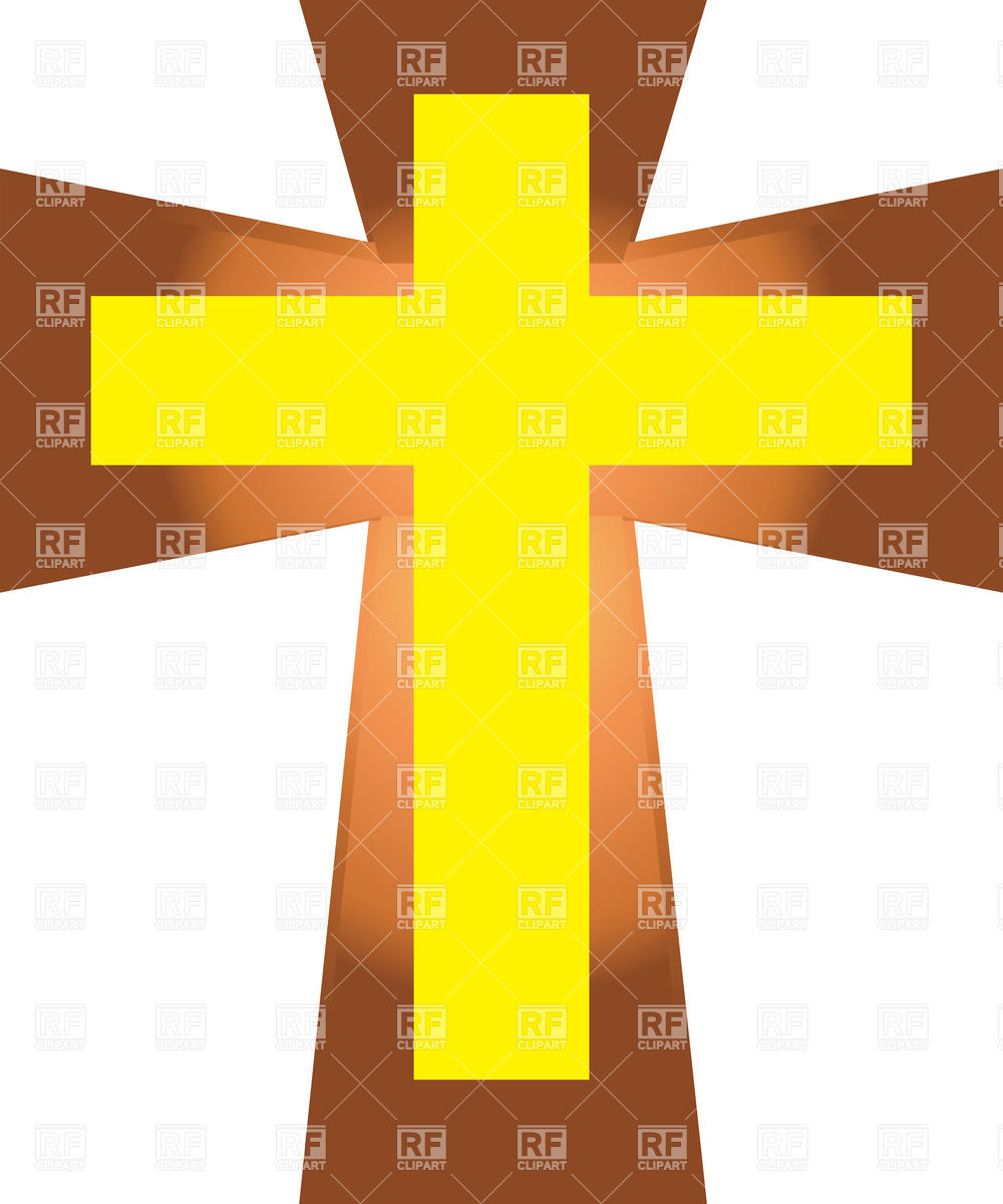 Yellow Cross Clipart - Clipart - 165.4KB