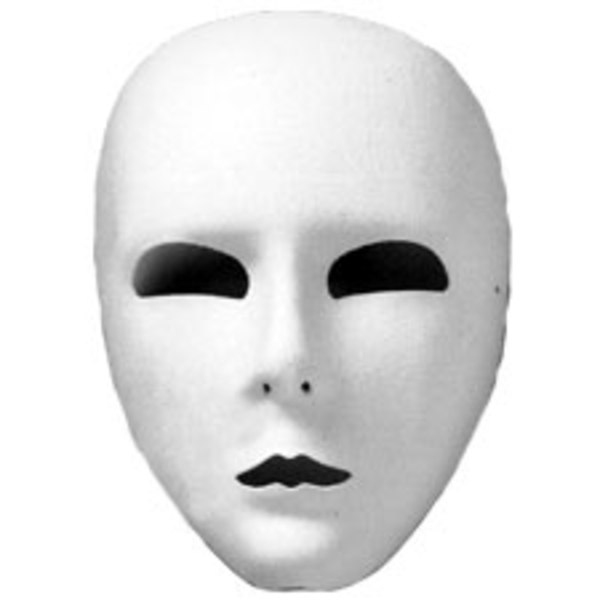 Full Face Mask White Ud   Free Images At Clker Com   Vector Clip Art