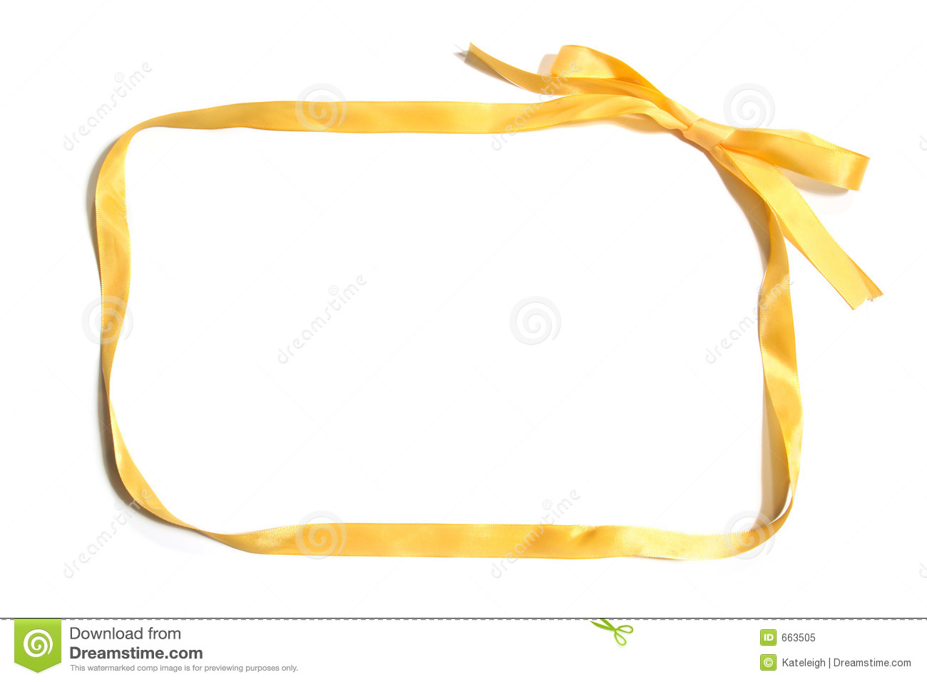 Gold Ribbon Border Clipart Ribbon Border Royalty Free