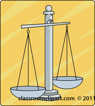 Legal   Law Scales Of Justice   Classroom Clipart