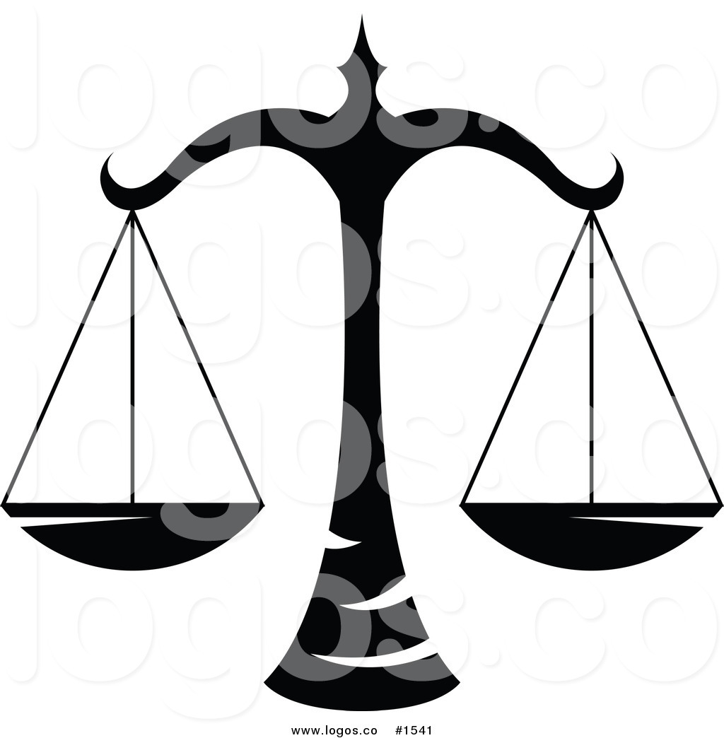 legal scales clipart - photo #29