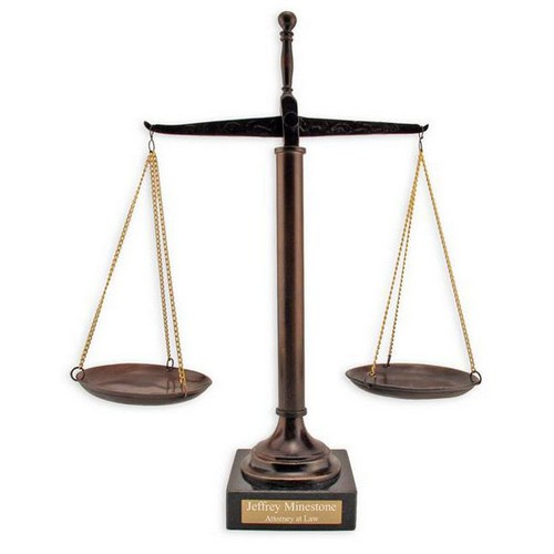 Legal Scales Of Justice Clip Art