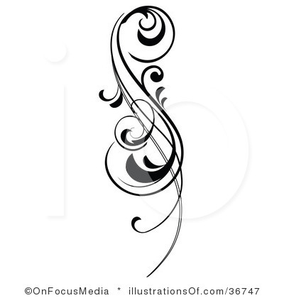 Simple Scroll Design Clip Art   Clipart Panda   Free Clipart Images