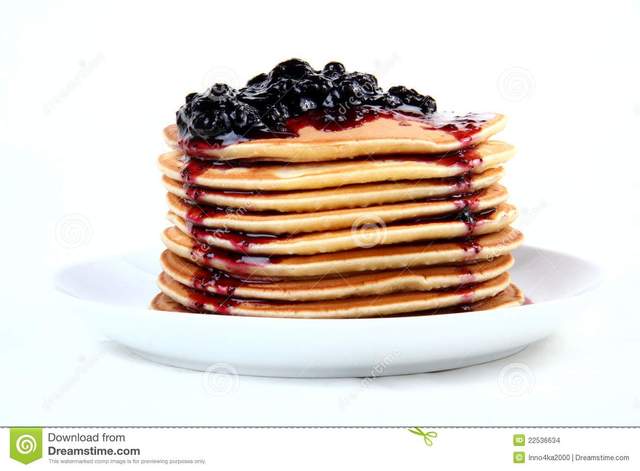 Blueberry Pancakes Clipart - Clipart Suggest