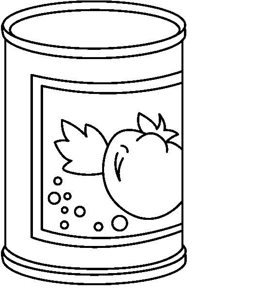 Canned Food   Teacher S Clip Art   Pinterest
