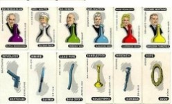 Cluedo Characters And Weapons