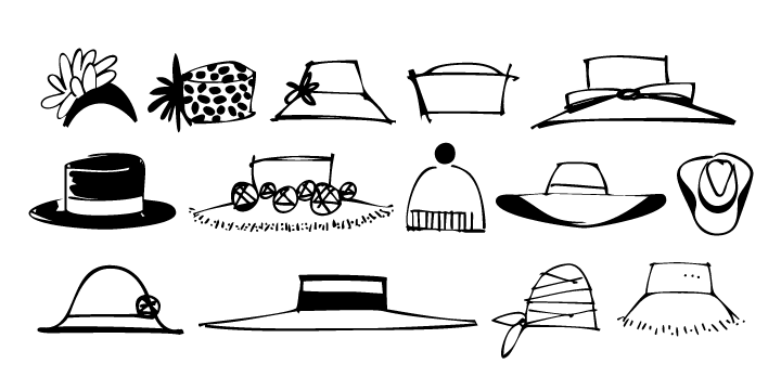 Women S Derby Hat Clipart Clipart Suggest