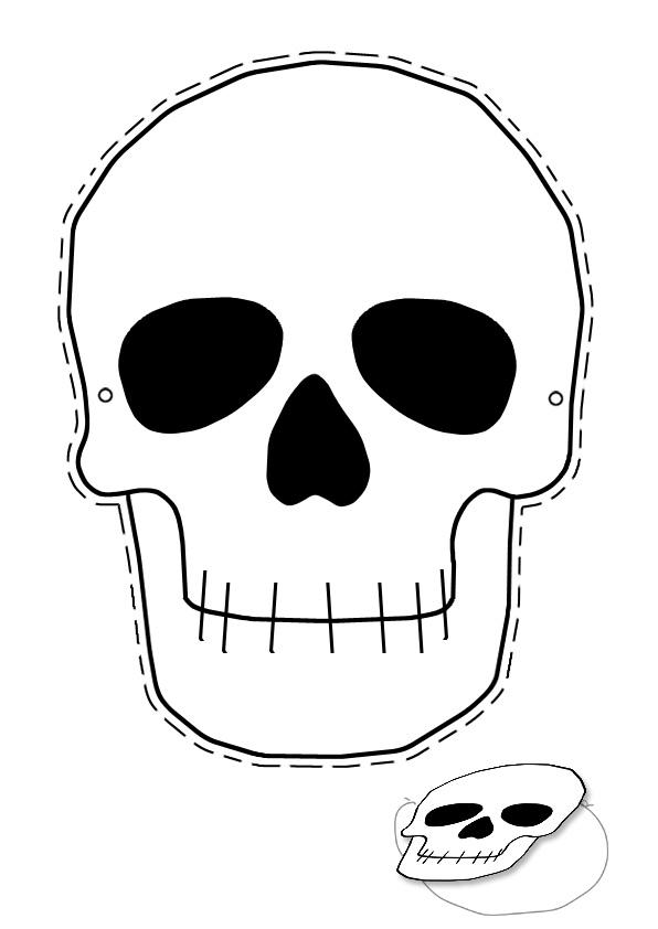 Маски скелета своими руками