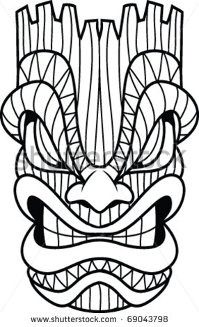 Tiki Mask Stock Photos Images   Pictures   Shutterstock