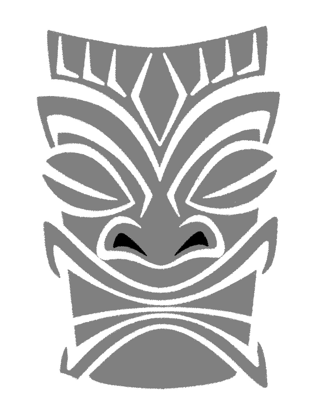 Tiki Pattern By Pumpkin Crazy On Deviantart