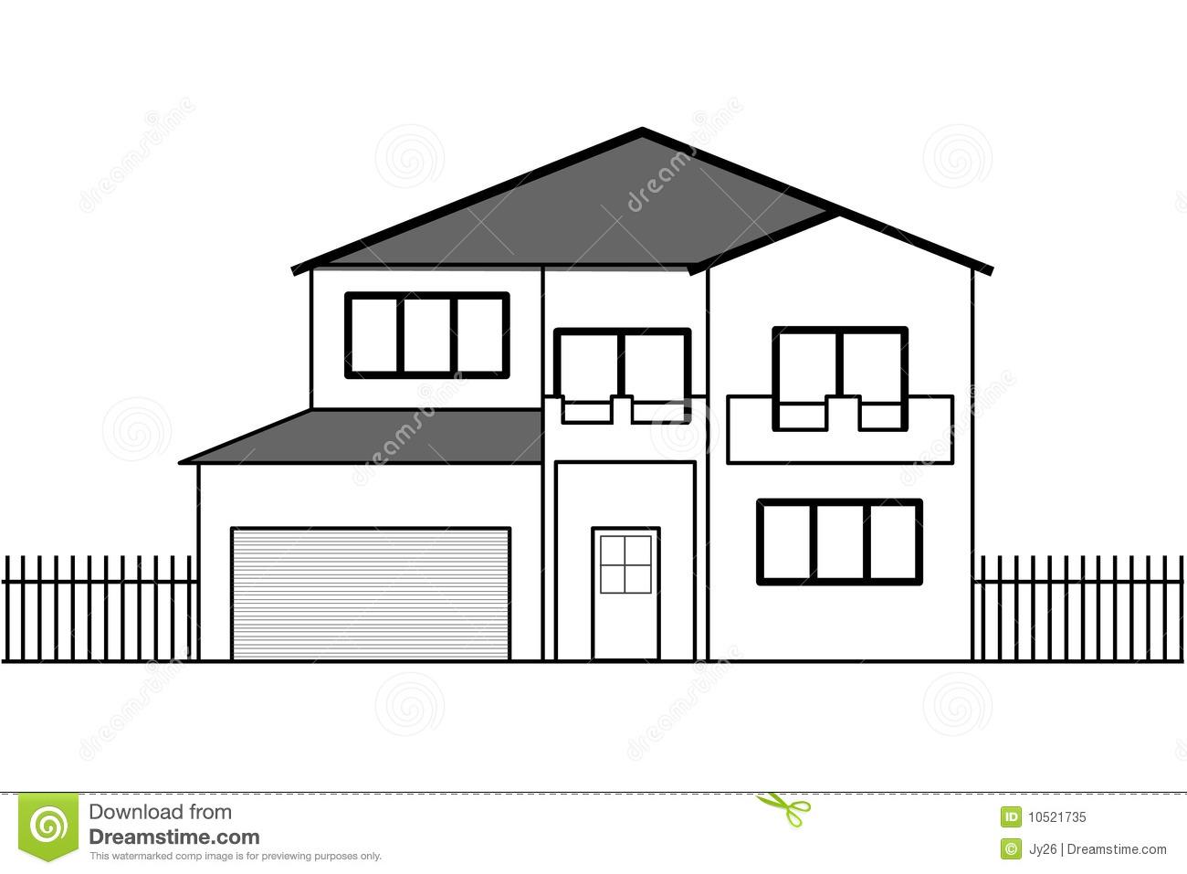 Белый дом рисунки 62