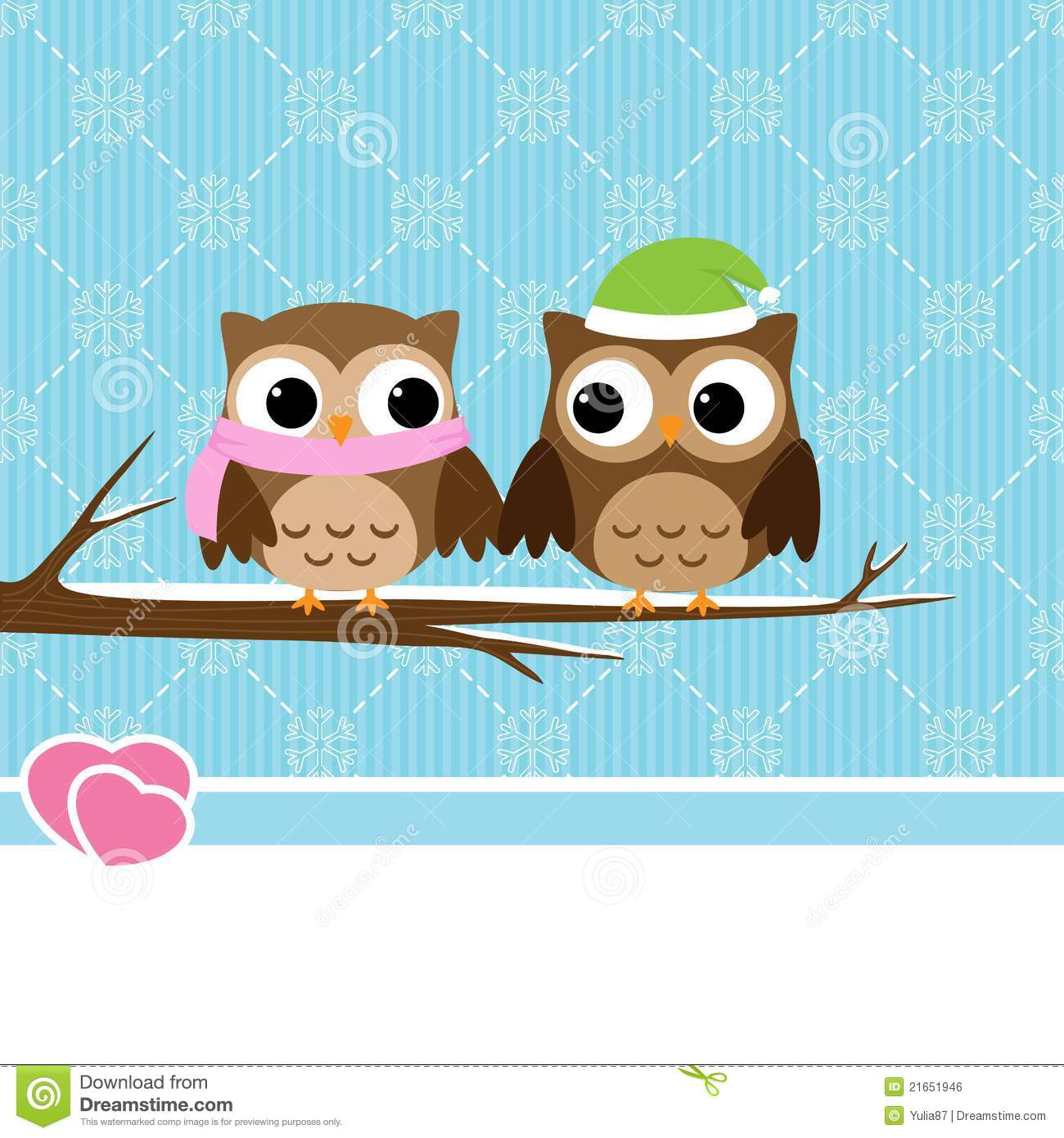 Winter Owl Clipart - Clipart Suggest