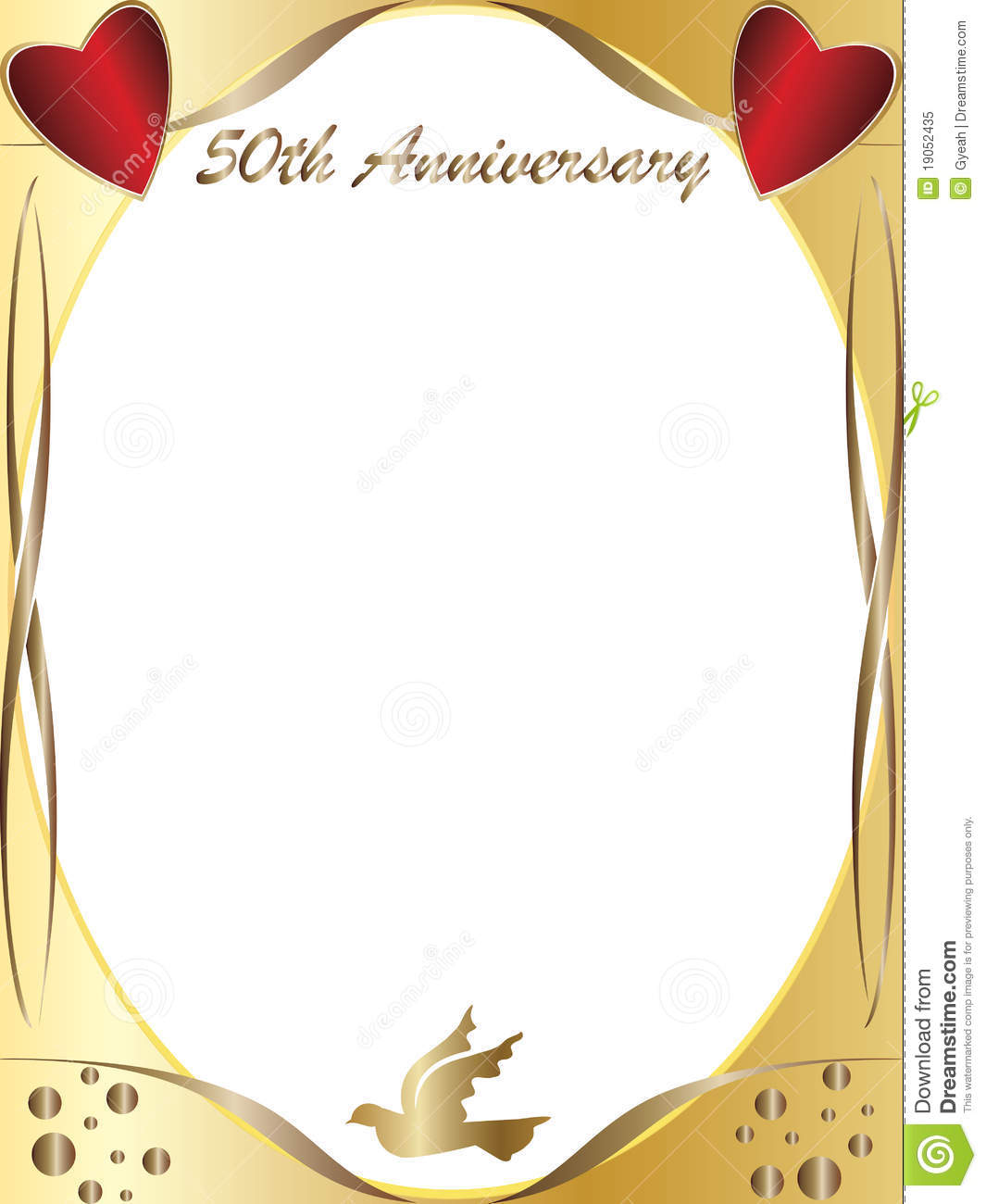 50th Wedding Anniversary Royalty Free Stock Photo   Image  19052435