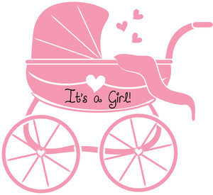 New Baby Girl Clipart - Clipart Kid