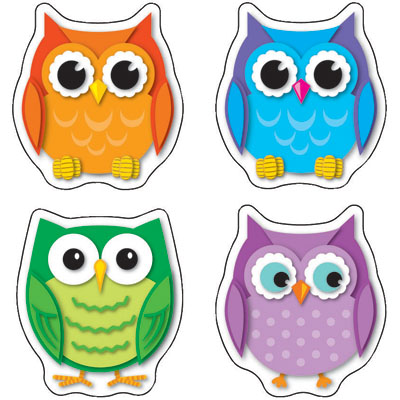 Colorful Owl Clipart - Clipart Kid