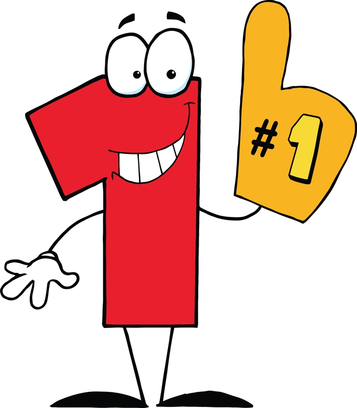 Cartoon Numbers Clipart - Clipart Kid