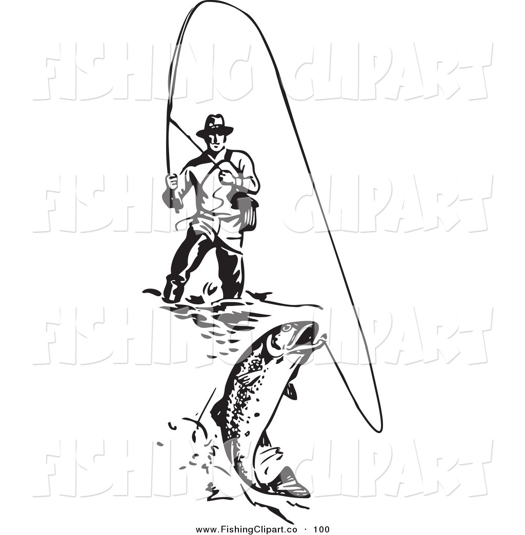 Man casting fishing line clipart clipart suggest for Free line fishing