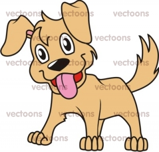 Excited Dog Clipart Happy Dog Clipart   Free Clip Art Images