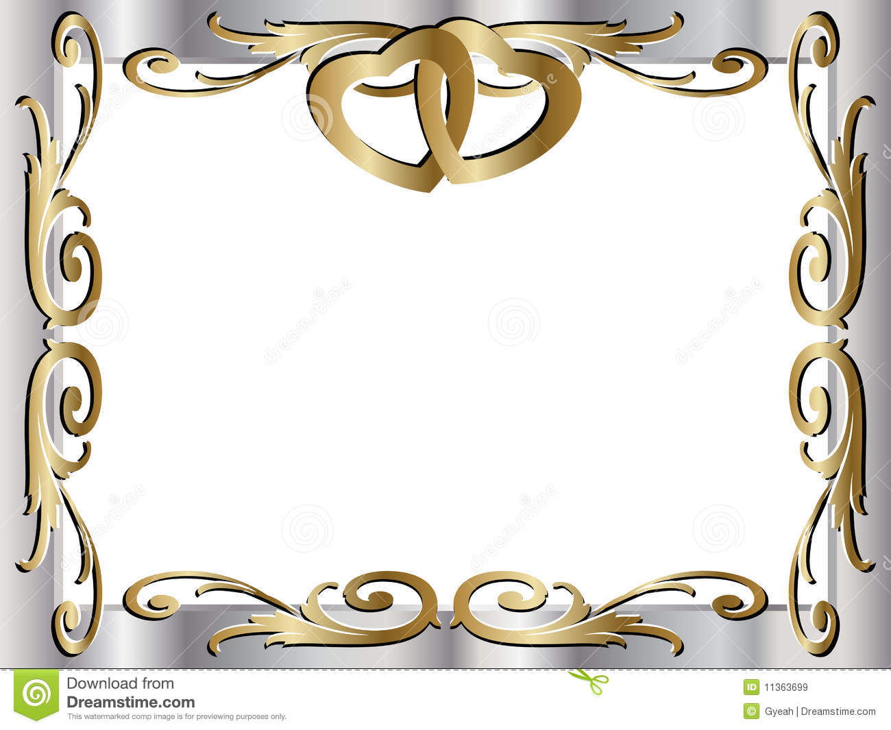 50th Or Golden Anniversary Of A Marriage Business Vector Available