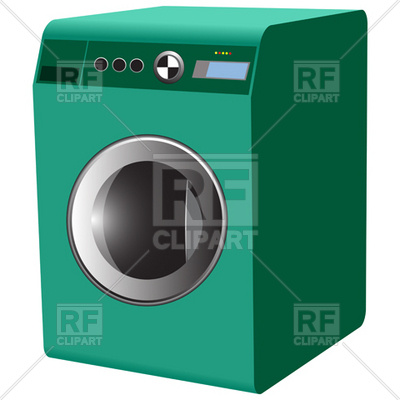 Laundry Washer Machine Download Royalty Free Vector Clipart  Eps