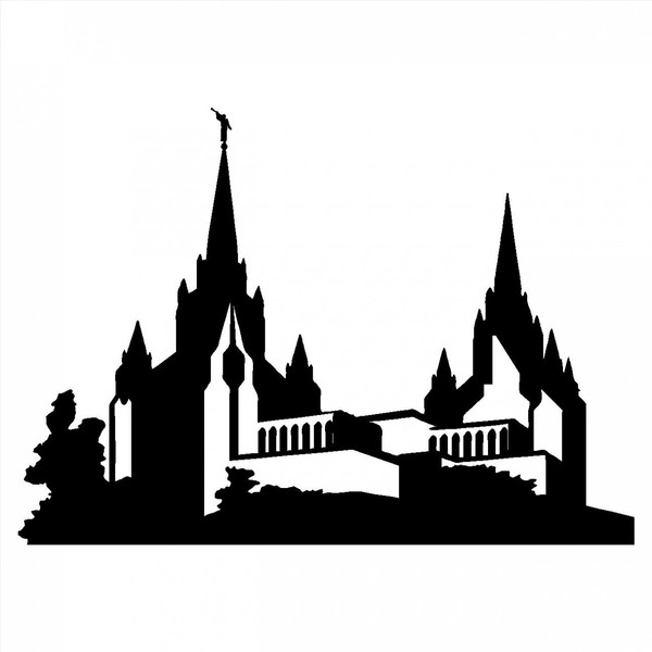 Lds Temple   San Diego Temple   Wall Decals   Vinyl Wall Art