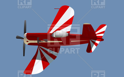 Little Red Propeller Plane 24734 Transportation Download Royalty