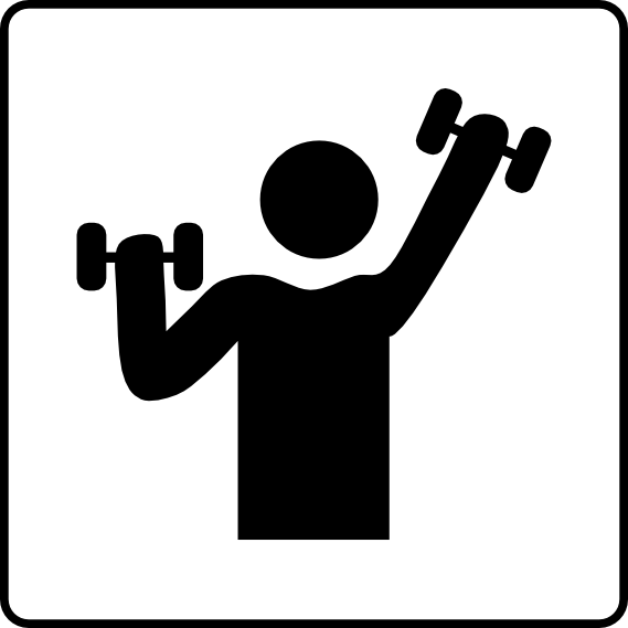Fitness Instructor Clipart