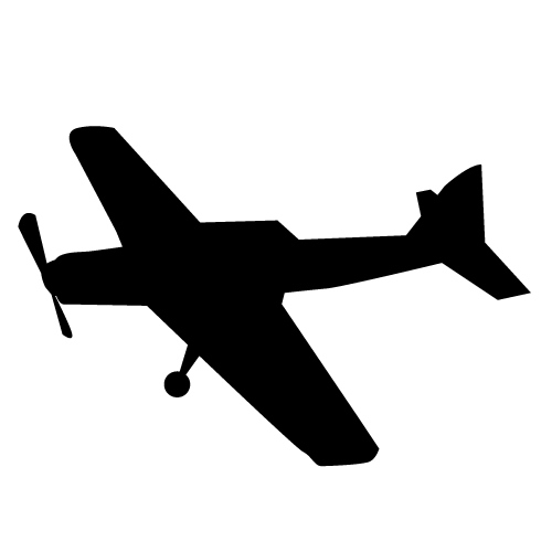 Propeller Plane   Free Download   Transportation Clip Art