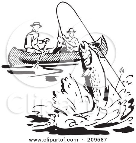 Black People Fishing Clipart - Clipart Kid
