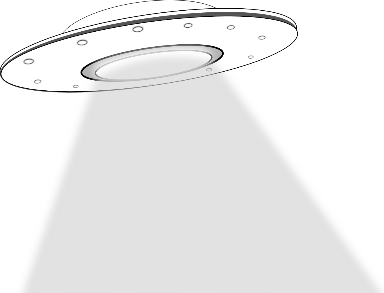 Ufo Black White Line Art Scalable Vector Graphics Svg Inkscape