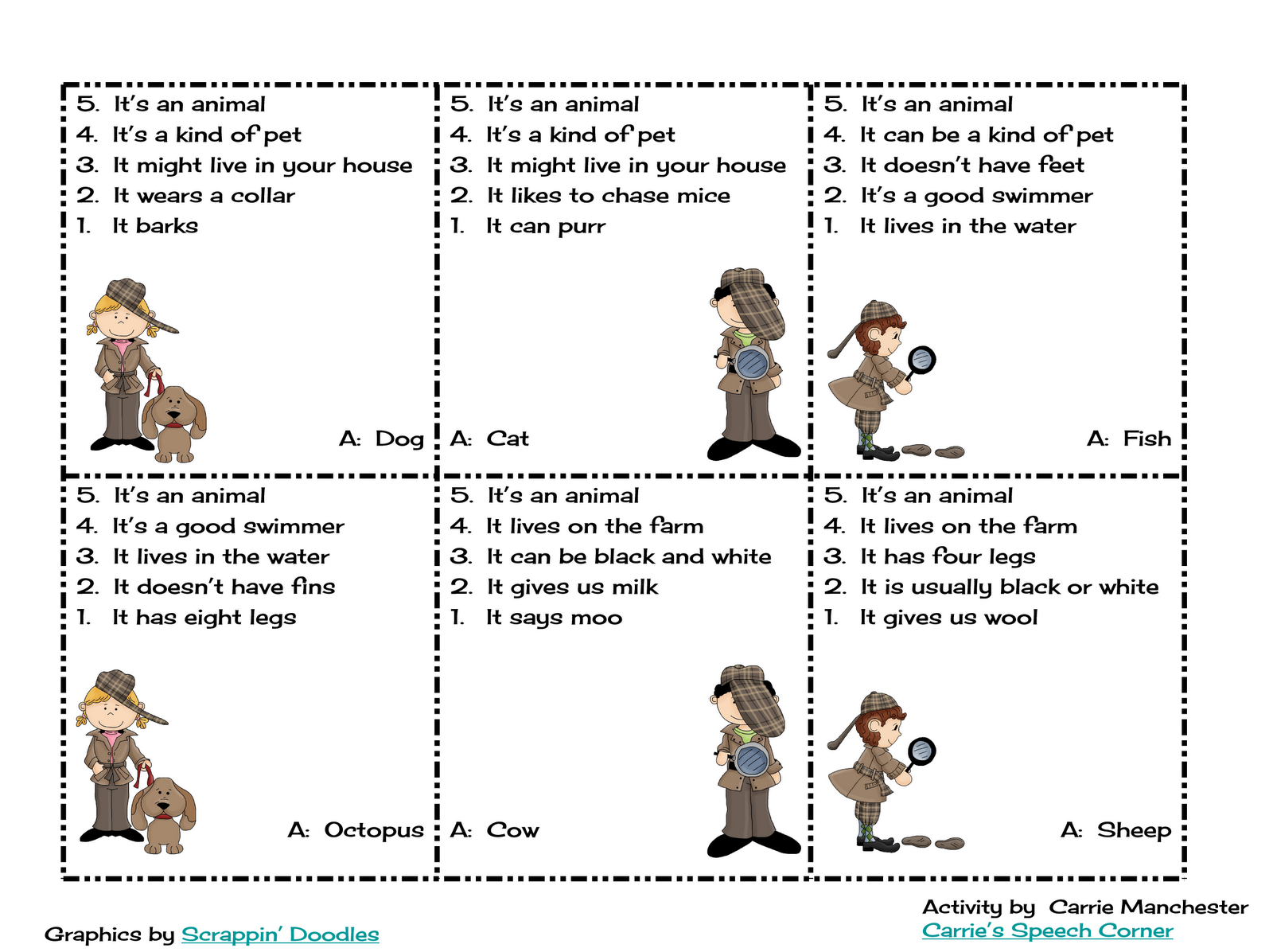 Blank Clue Game Sheets Original clue game clipart - clipart kid
