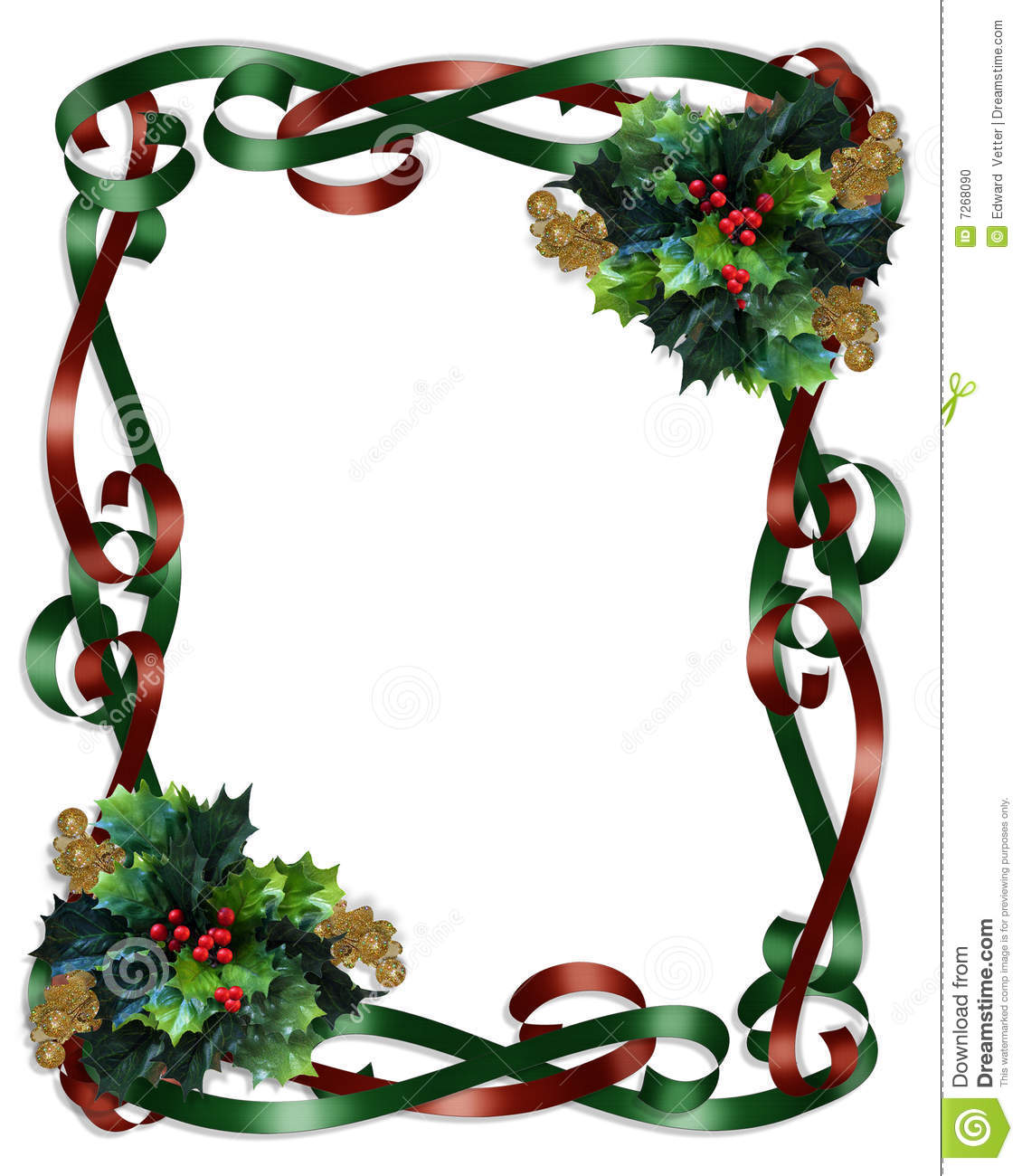 Christmas Ornament Border Clipart - Clipart Kid