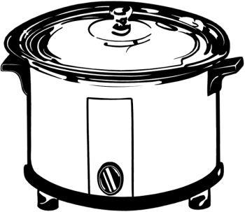 Crock Pot Clipart More Slow Cooker Recipes   Cook While You Hike