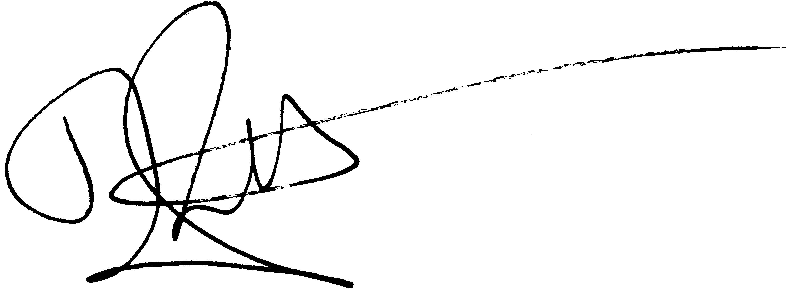 Signature Female Clipart - Clipart Kid