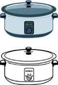 For Crockpot Pictures   Graphics   Illustrations   Clipart   Photos