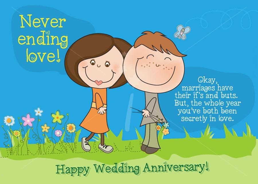 Funny Anniversary Wishes Cartoons Anniversary Images   Festival