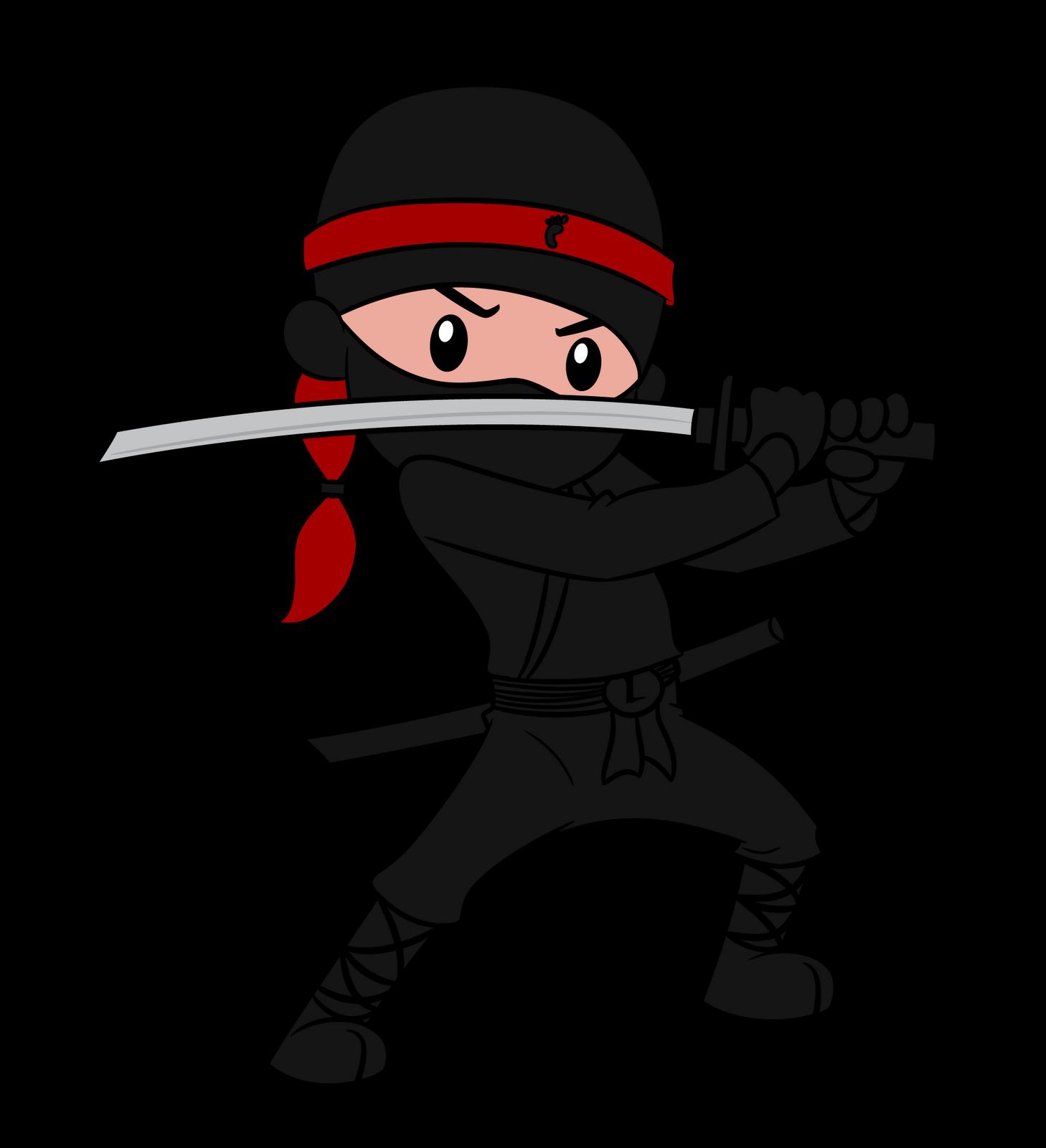 Cute Girl Ninja Clipart - Clipart Kid