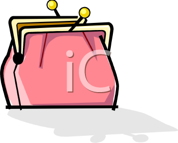 Purse Clipart 0511 0810 0602 1320 Old Fashioned Coin Purse Clipart