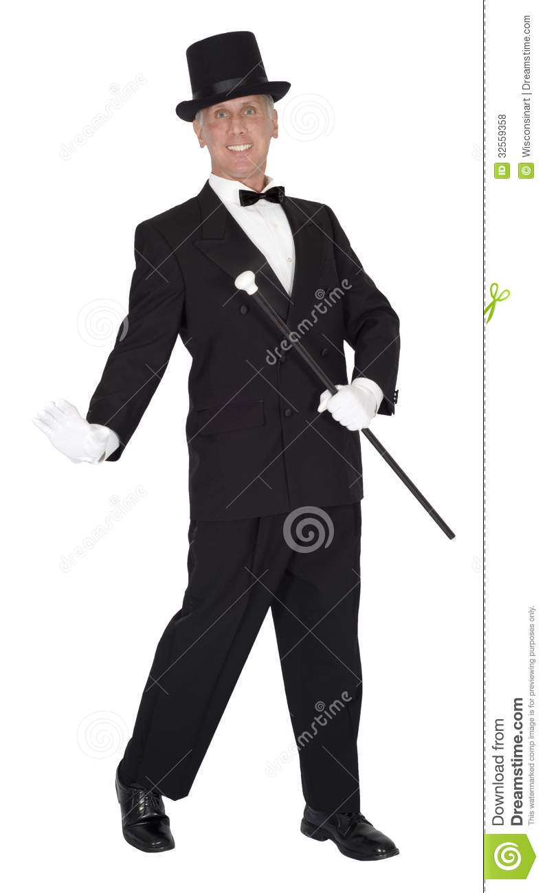 Song And Dance Man Tap Dancer Dancing Isolated Royalty Free Stock ...