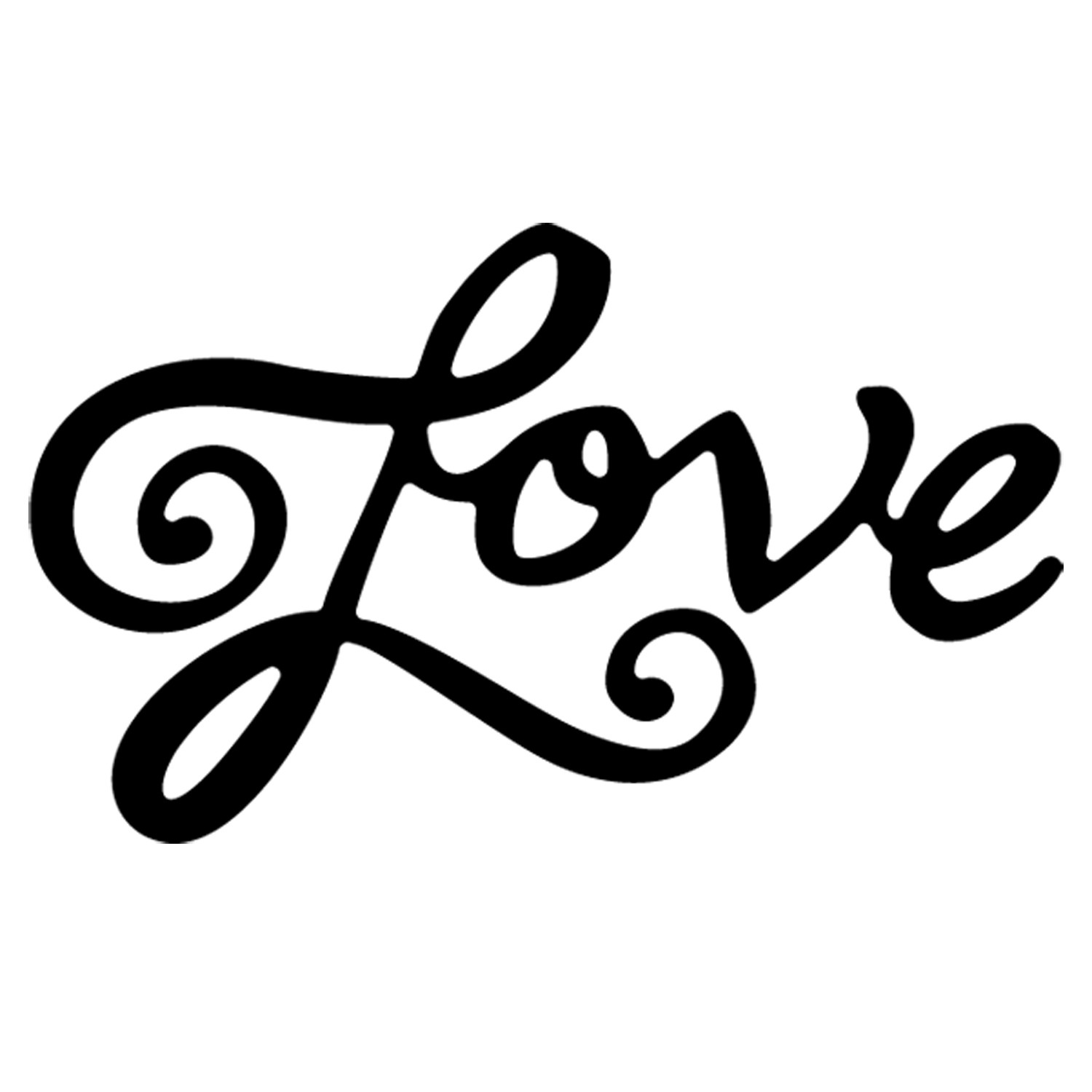 The Word Love In Cursive   Clipart Panda   Free Clipart Images