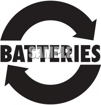 Battery Recycle Clipart - Clipart Kid